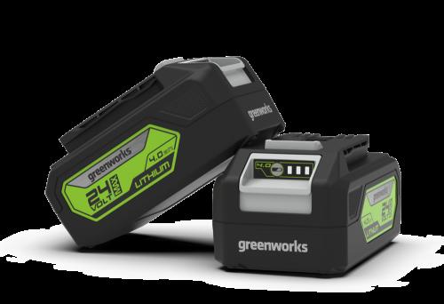 Greenworks 24V Lithium-ion 4Ah Battery