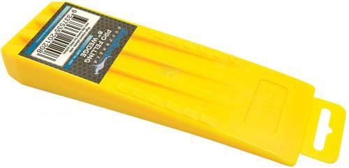 "Yellow Pro 8"" Plastic Wedge"