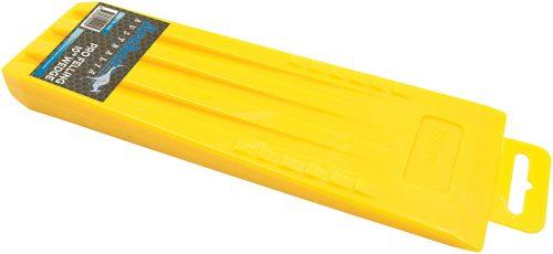 "Yellow Pro 10"" Plastic Wedge"