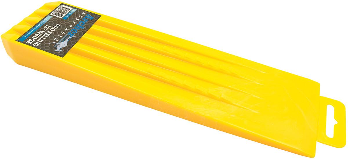 "Yellow Pro 12"" Plastic Wedge"