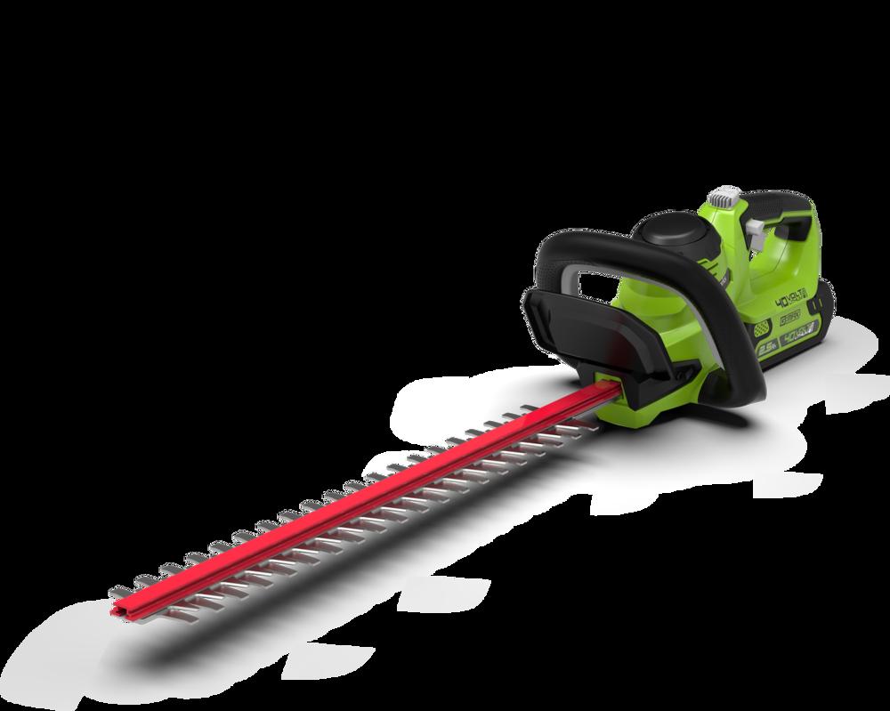 40V Greenworks Hedge Trimmer Kit