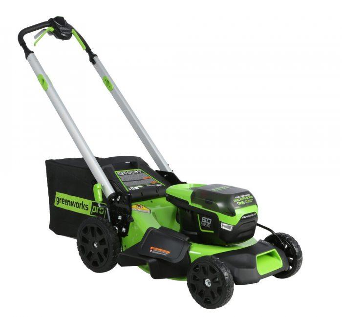 60 Volt Greenworks S/P Mower Skin