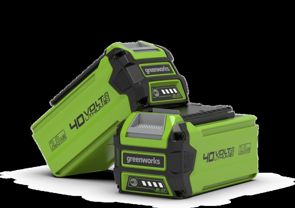 40V Greenworks Battery 2.0 A/H
