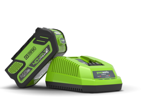 40v Greensworks4.0A/H Battery & Charger