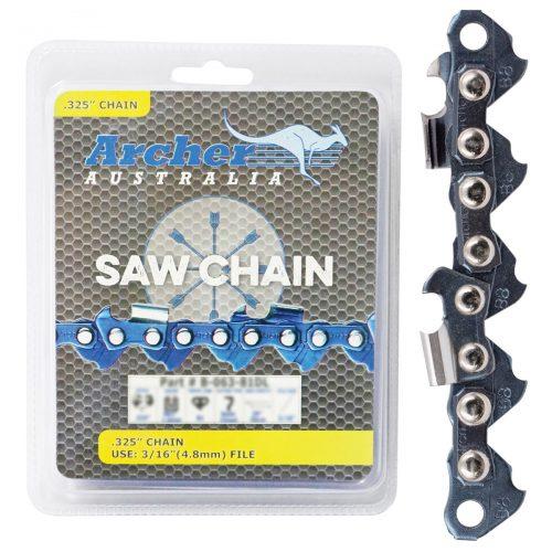 """.325 .058""""56DL Chainsaw Chain (Archer)"""