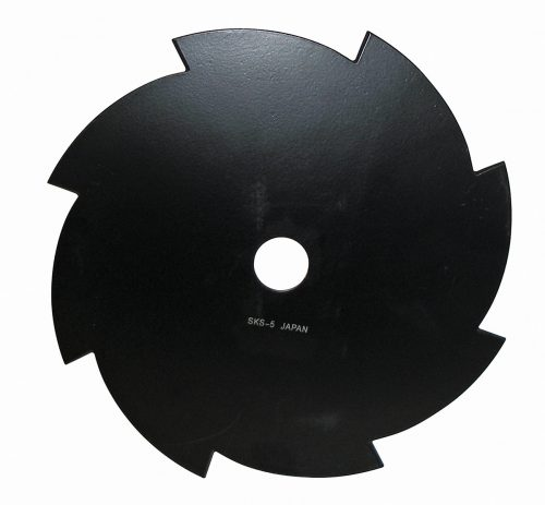 """8 Tooth, 10"""" Brushcutter Blade, 1"""" Bore,"""